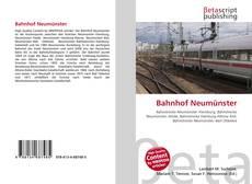 Bookcover of Bahnhof Neumünster