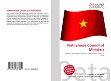 Bookcover of Vietnamese Council of Ministers
