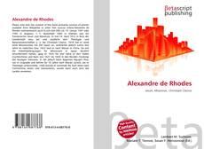 Bookcover of Alexandre de Rhodes