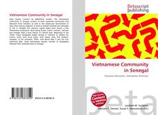 Bookcover of Vietnamese Community in Senegal