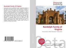Bookcover of Randolph Family of Virginia
