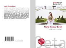 Bookcover of Nand Kumar Patel