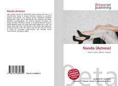 Portada del libro de Nanda (Actress)