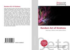 Bookcover of Random Act of Kindness