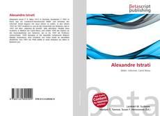 Alexandre Istrati kitap kapağı