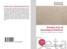 Buchcover von Random Acts of Genealogical Kindness