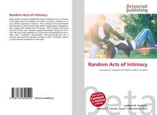 Bookcover of Random Acts of Intimacy