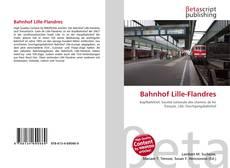 Bookcover of Bahnhof Lille-Flandres