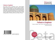 Portada del libro de Tafseer-e-Sagheer