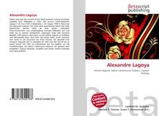 Bookcover of Alexandre Lagoya