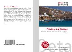 Bookcover of Provinces of Greece