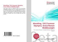 Wrestling, 1912 Summer Olympics, Greco-Roman Middleweight kitap kapağı