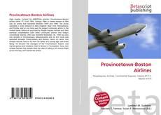 Buchcover von Provincetown-Boston Airlines