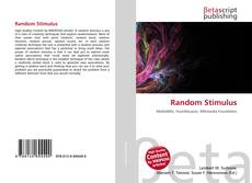 Capa do livro de Random Stimulus