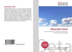 Bookcover of Alexandre Vinet