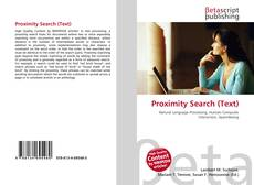 Bookcover of Proximity Search (Text)