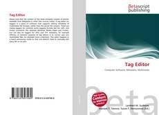 Tag Editor kitap kapağı