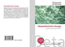 Alexandrinische Liturgie的封面