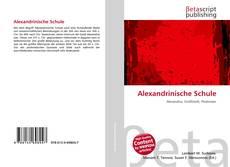 Bookcover of Alexandrinische Schule