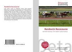 Bookcover of Randwick Racecourse