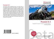 Prussian G 2的封面