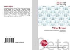 Buchcover von Viktor Petrov
