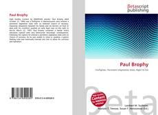 Buchcover von Paul Brophy