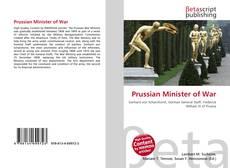 Portada del libro de Prussian Minister of War