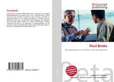 Capa do livro de Paul Broks