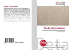 Portada del libro de Randy Baumgardner
