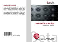 Buchcover von Alexandros Othonaios