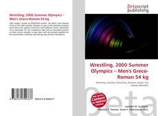Wrestling, 2000 Summer Olympics – Men's Greco-Roman 54 kg kitap kapağı