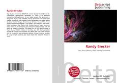 Bookcover of Randy Brecker