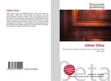 Viktor Oliva kitap kapağı