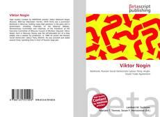 Bookcover of Viktor Nogin