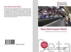 Bookcover of Gare Saint-Lazare (Paris)