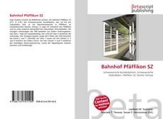 Обложка Bahnhof Pfäffikon SZ