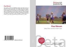 Bookcover of Paul Bevan