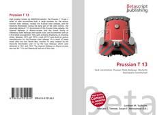 Buchcover von Prussian T 13