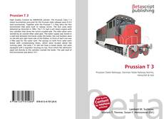 Bookcover of Prussian T 3