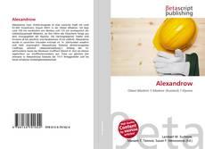 Обложка Alexandrow