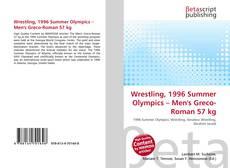 Wrestling, 1996 Summer Olympics – Men's Greco-Roman 57 kg kitap kapağı