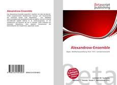 Обложка Alexandrow-Ensemble