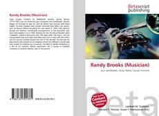 Обложка Randy Brooks (Musician)