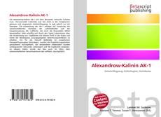 Buchcover von Alexandrow-Kalinin AK-1