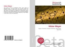 Buchcover von Viktor Meyer