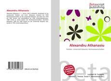 Alexandru Athanasiu kitap kapağı