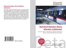 Bookcover of Bahnhof Rahden (Kreis Minden-Lübbecke)