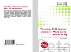Wrestling, 1992 Summer Olympics – Men's Greco-Roman 68 kg kitap kapağı