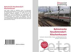 Copertina di Bahnstrecke Neudietendorf–Ritschenhausen